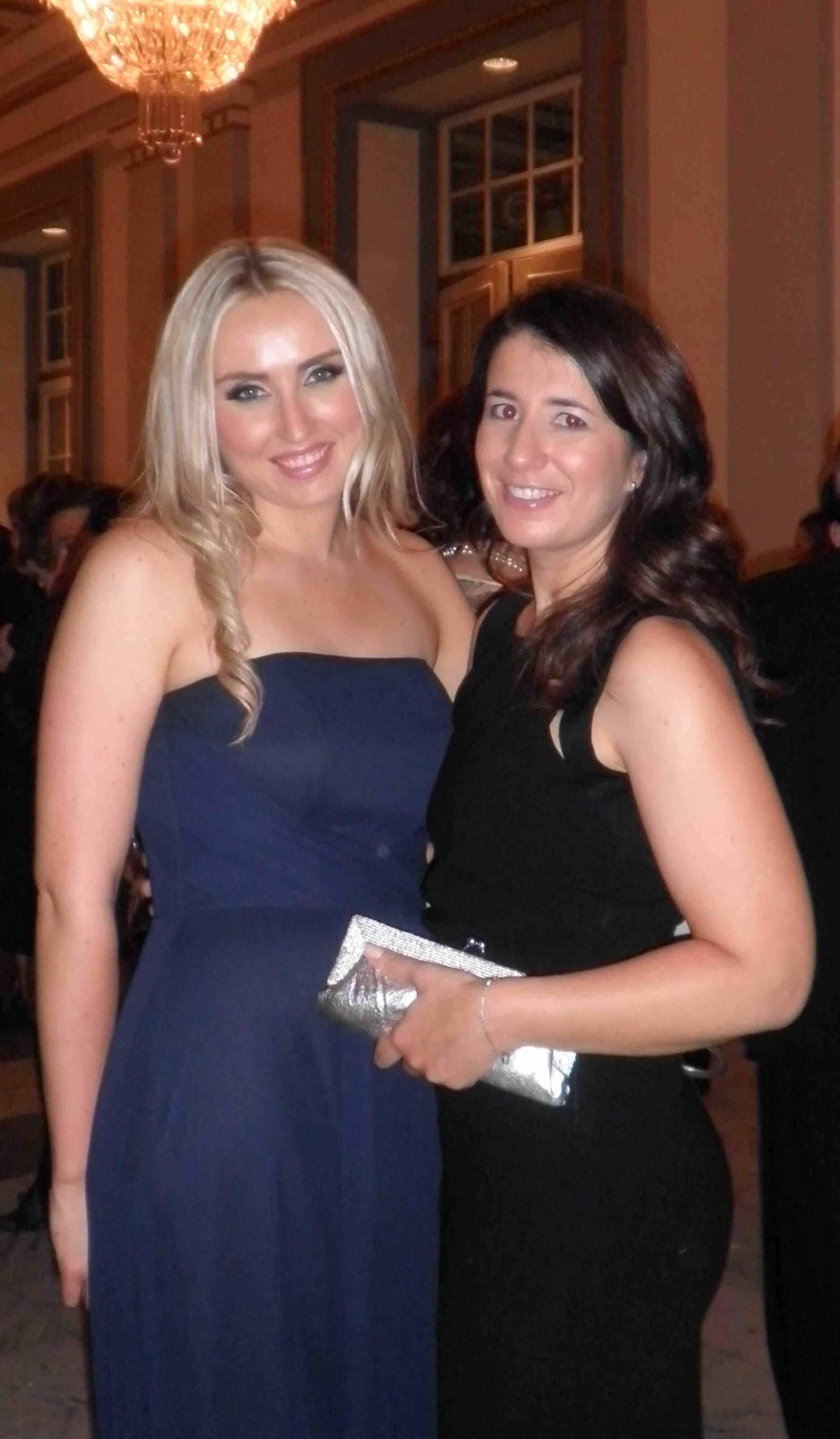 Samantha Curtis and Sabine Ducroux